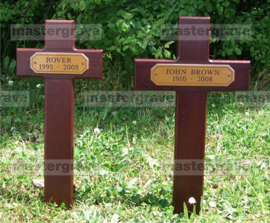 Wooden Crossesstakegrave Markers Crosscrosslarge